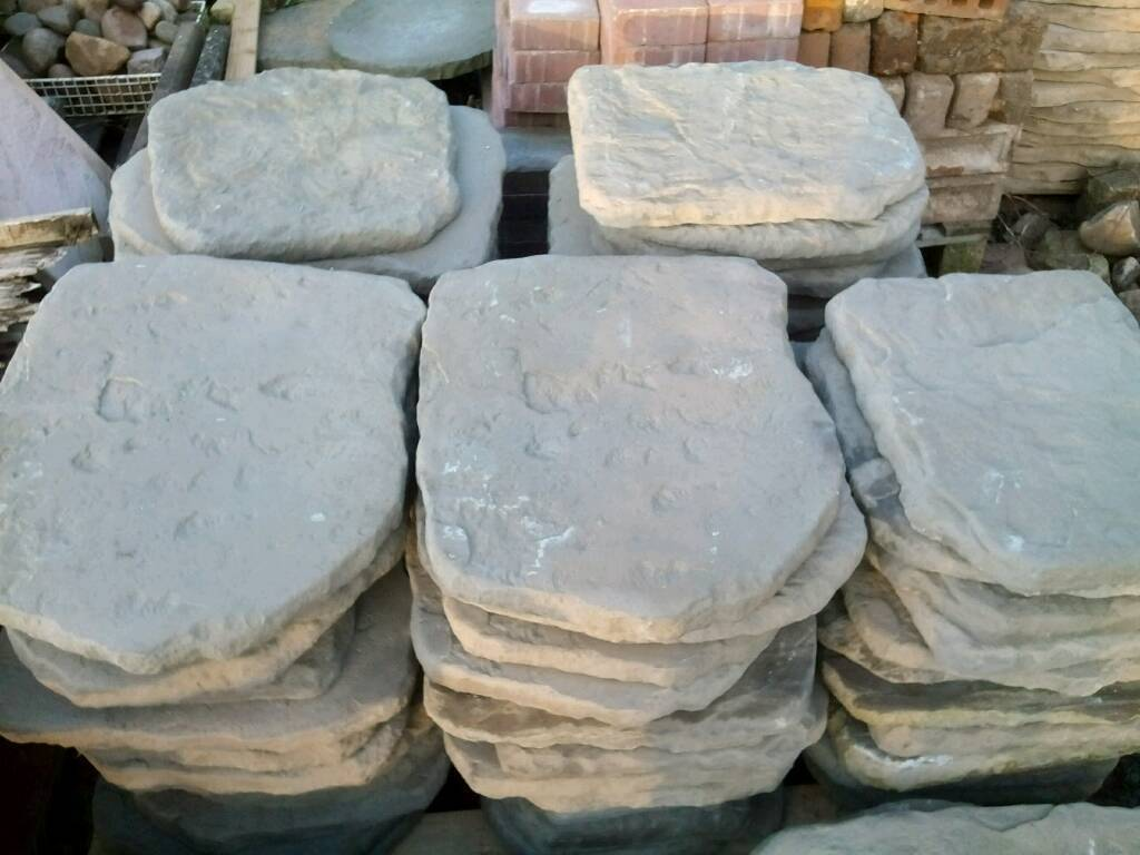 Incroyable New Large Garden Stepping Stones / Slabs