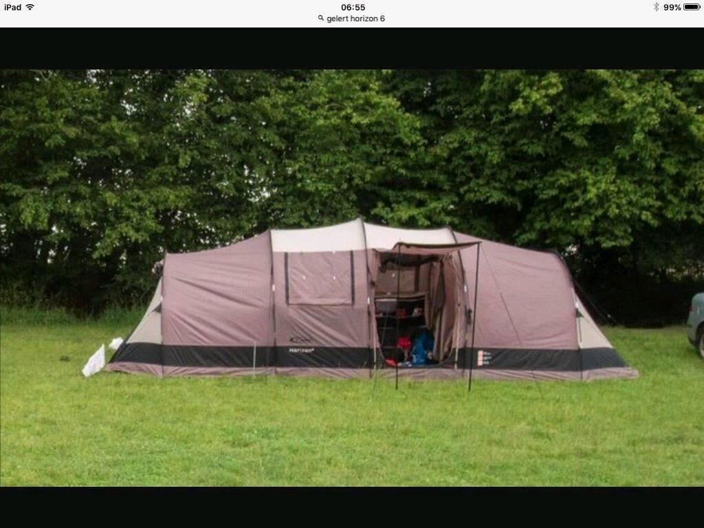 Gelert Horizon 6 tent groundsheet and carpet & Gelert Horizon 6 tent groundsheet and carpet   in Comber County ...