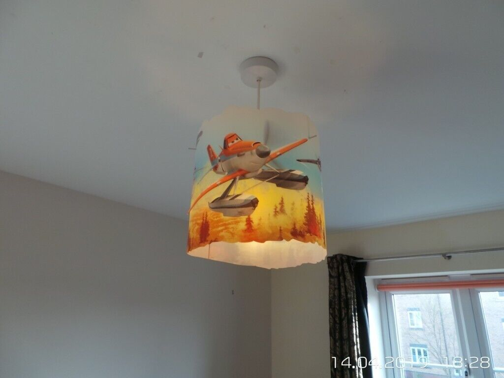 Disney Planes Modern Childrenu0027s Bedroom Easy Fit Ceiling Light Shade  Litecraft | In Torrington, Devon | Gumtree