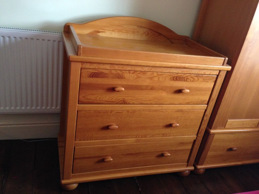Exceptional Mamas U0026 Papas Antique Pine Richmond Chest Of Drawers With Changing Area On  ...