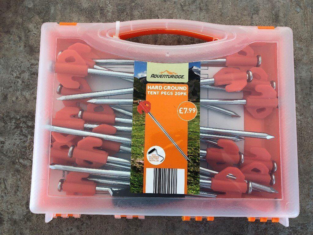 Hard ground tent pegs & Hard ground tent pegs   in Epsom Surrey   Gumtree
