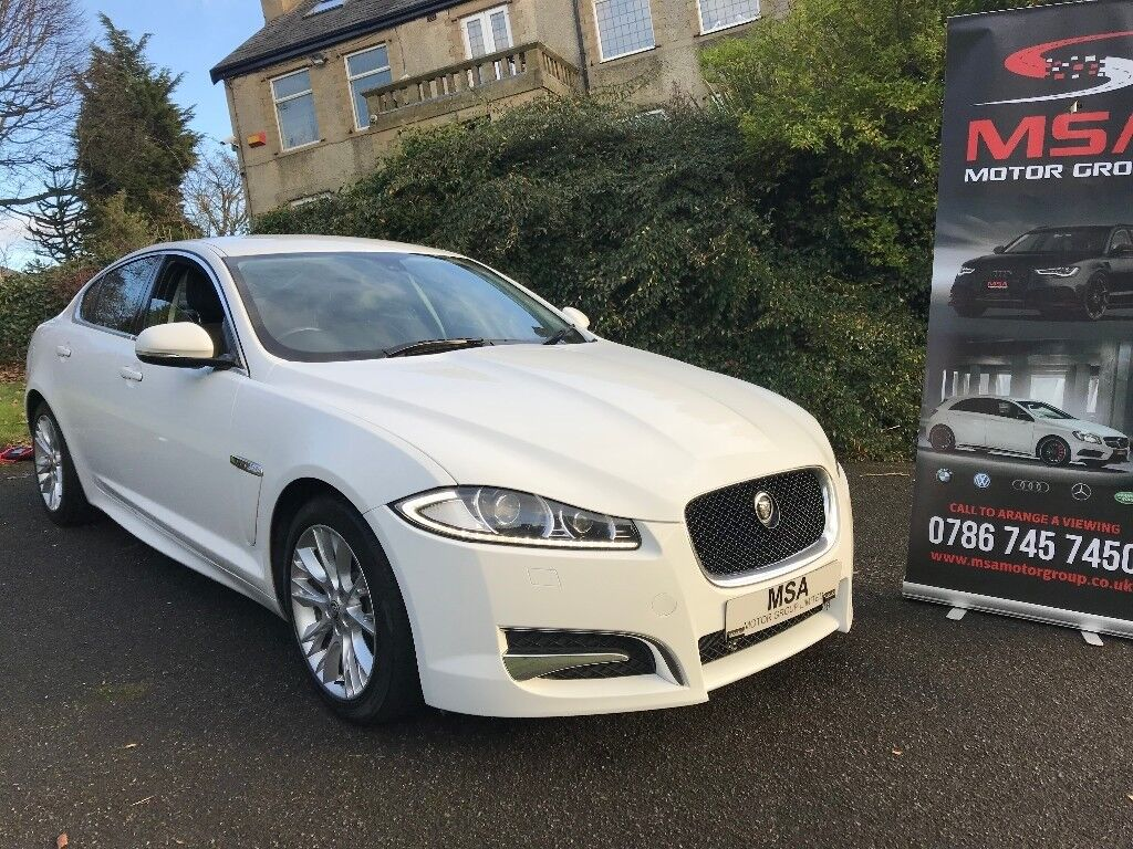 ~SOLD~ 2013 JAGUAR XF 2.2 D R SPORT 200BHP 2 YEARS WARRANTY AUTOMATIC  Diesel White