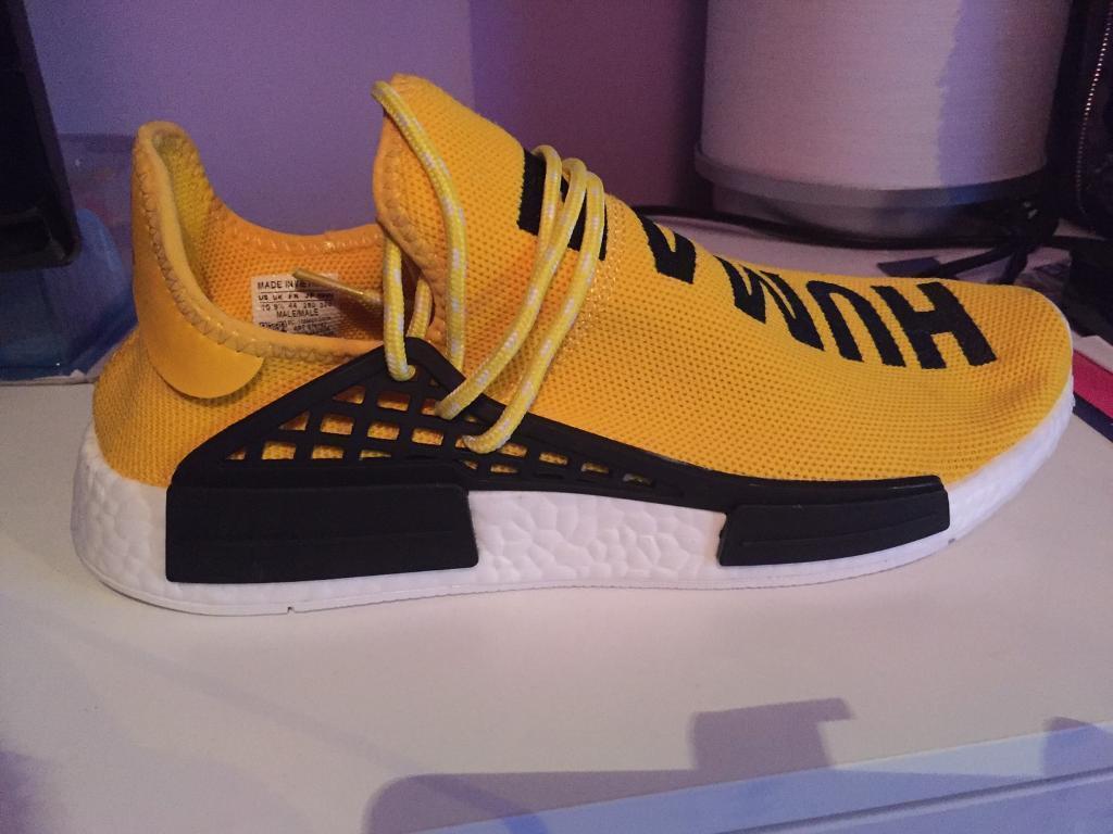 Pharrell Williams Adidas X Nmd Human Race Trainers