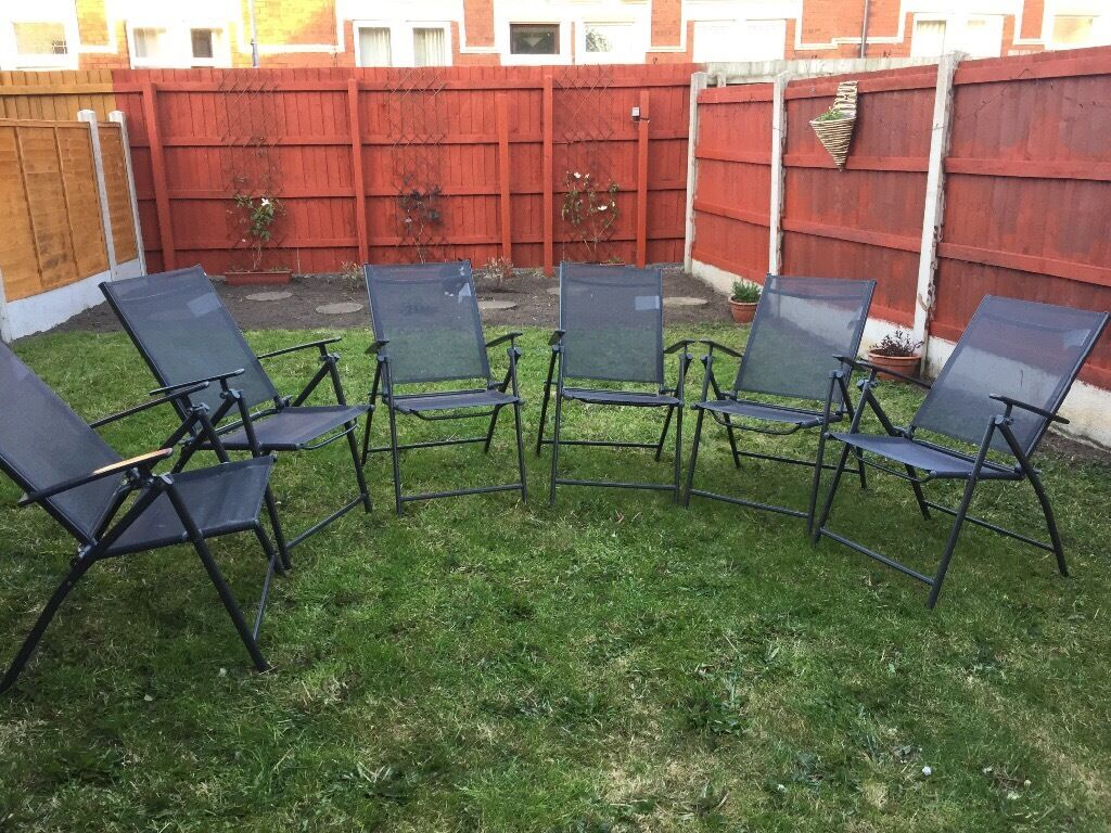 6 Garden chairs - Milan range from Argos & 6 Garden chairs - Milan range from Argos | in Carlisle Cumbria ...