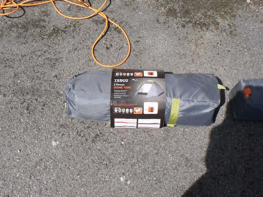 Tesco 3 man and two man tents for sale unused & Tesco 3 man and two man tents for sale unused | in Middlesbrough ...