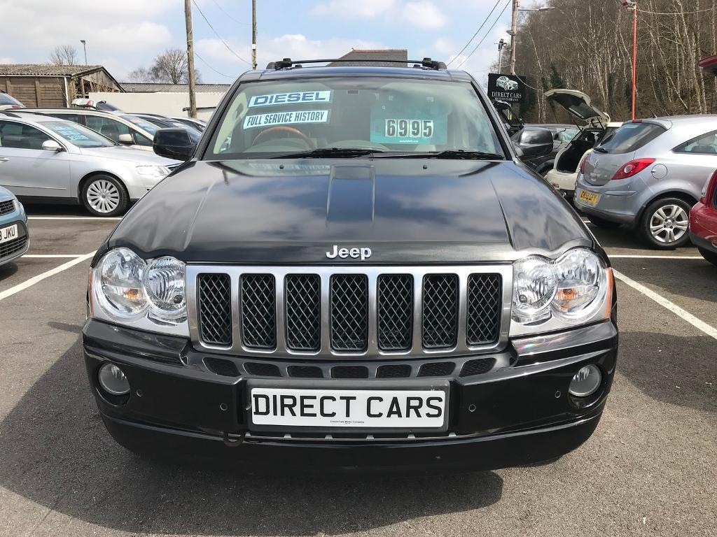2007 (07) Jeep GRAND CHEROKEE Diesel ** Automatic ** Only 86k ** F/S/H ** |  In Clydach, Swansea | Gumtree