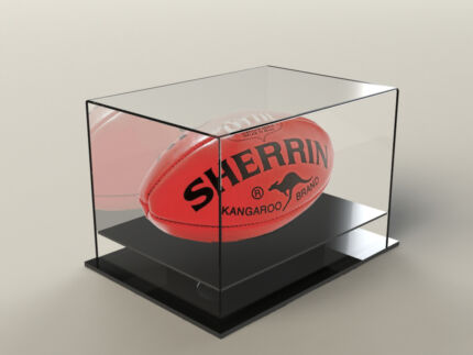 afl football acrylic perspex display case brand new sale