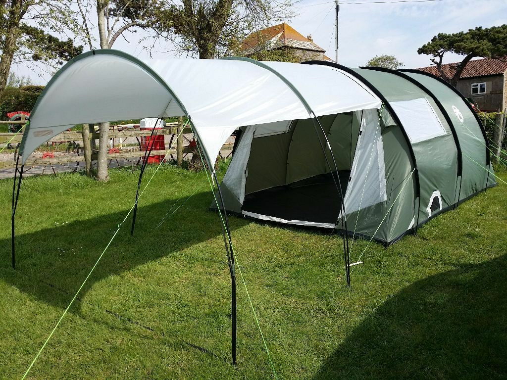 Coleman coastline 4 Deluxe with canopy and footprint & Coleman coastline 4 Deluxe with canopy and footprint | in Clevedon ...