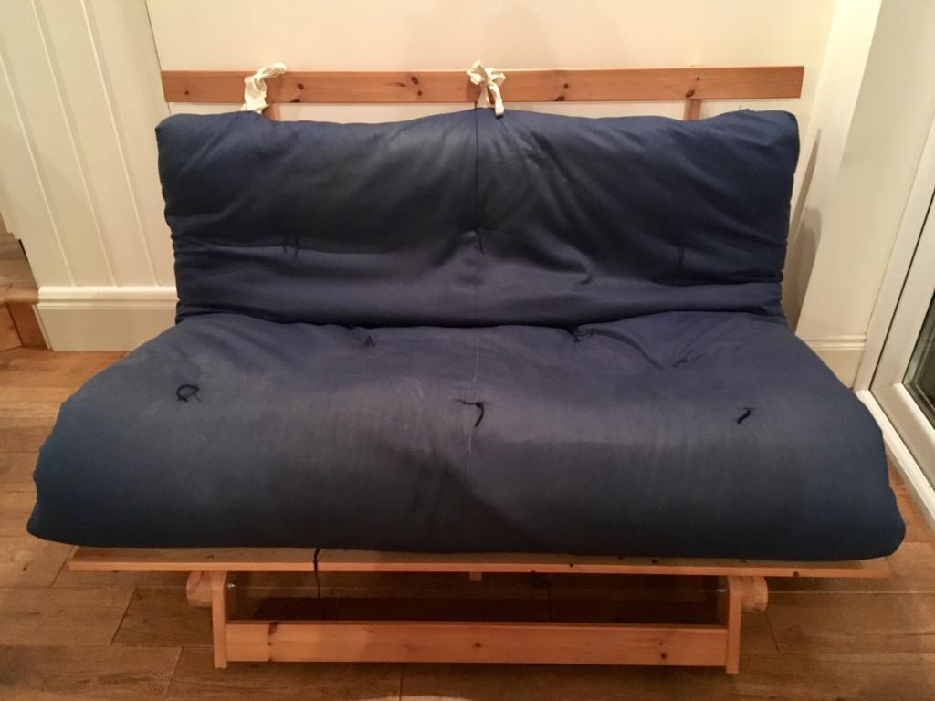 Navy Ikea Futon Mattress Only Used