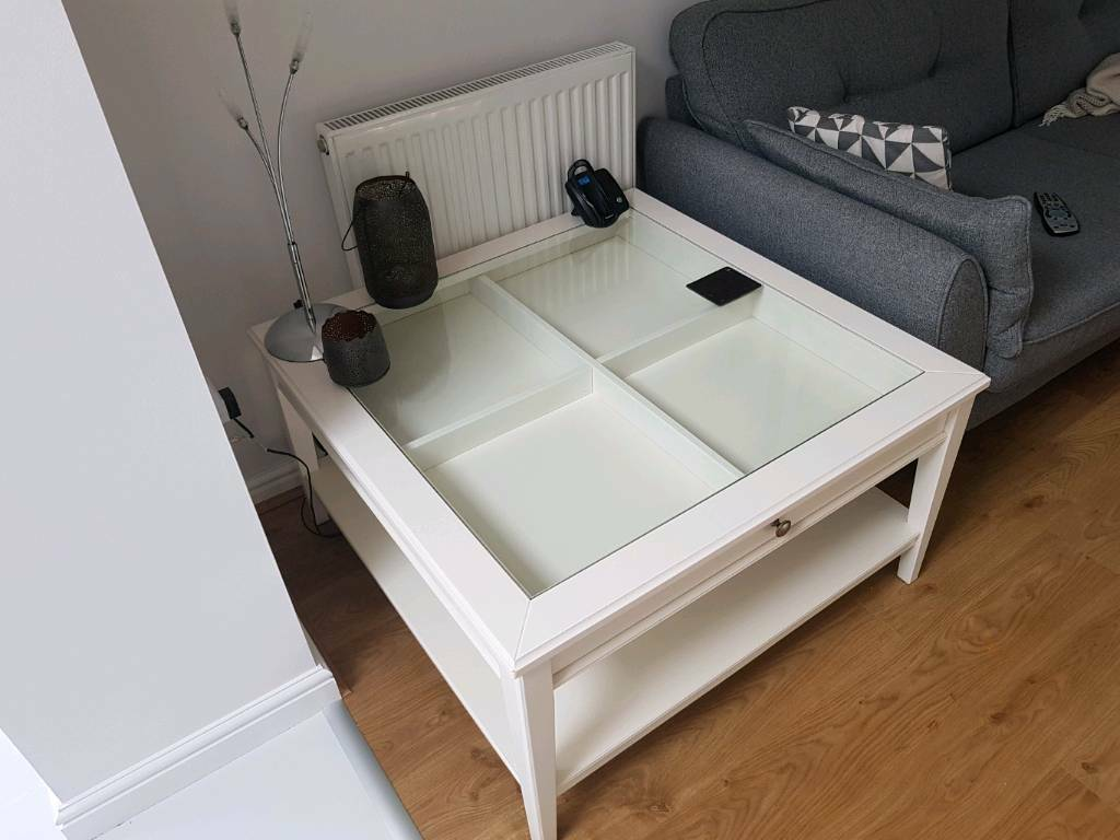 White / Ivory Coffee Table