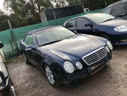 WRECKING 1999 MODEL MERCEDES BENZ CLK230 FOR PARTS