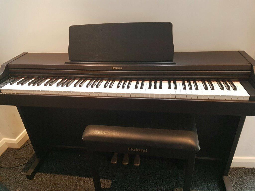 Roland Piano RP101 with piano stool hardly used and in great condition! & Roland Piano RP101 with piano stool hardly used and in great ... islam-shia.org