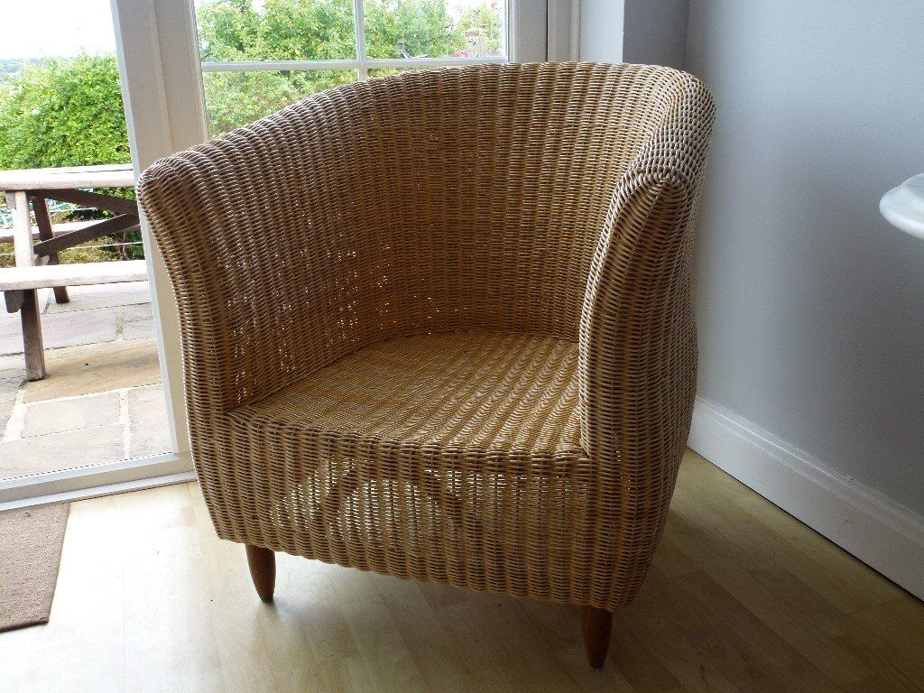 Tub Style Large Wicker Chair | In Oxford, Oxfordshire | Gumtree