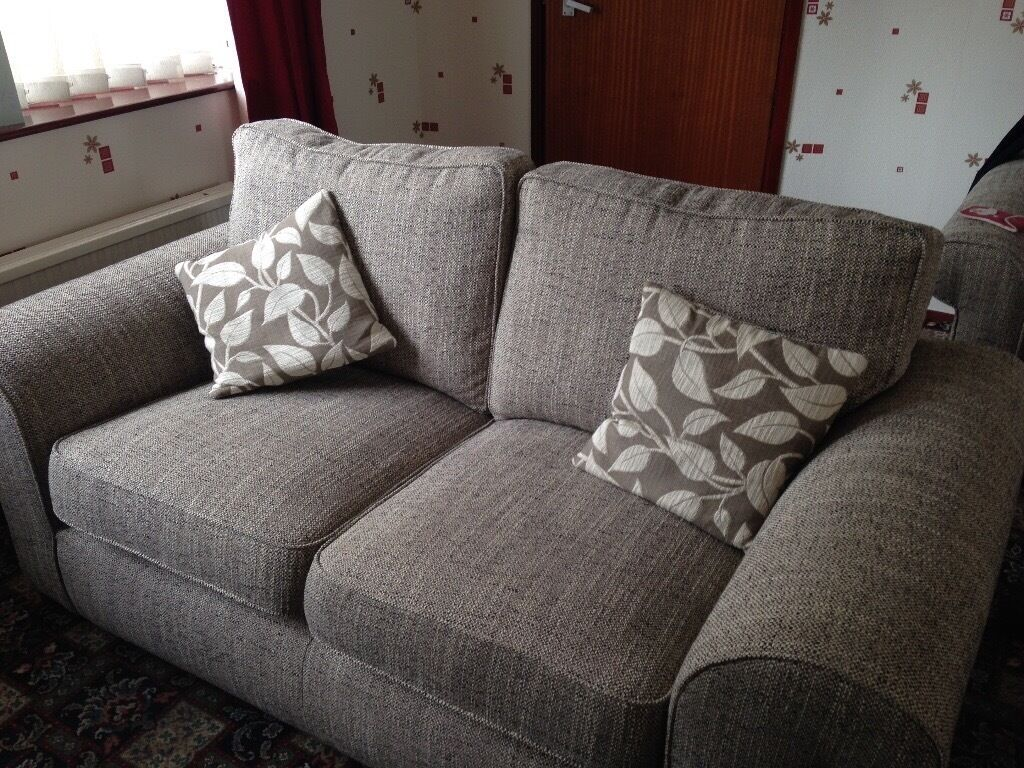 3 Seater Sofa And 2 Armchairs Ashford Fabric Range From Sofology