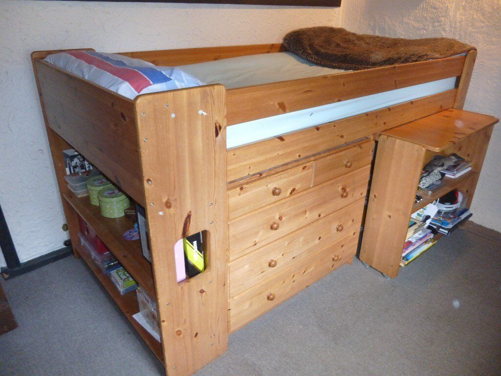 Stompa 3ft Single Pine Cabin/Storage Bed. & Stompa 3ft Single Pine Cabin/Storage Bed. | in Norwich Norfolk ...