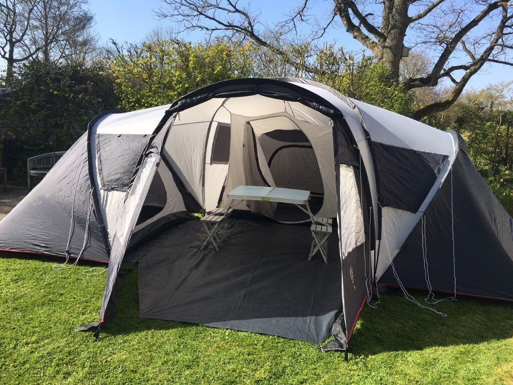Eurohike Windsor tent with 3 bedroom pods - sleeps 6! : windsor tent and awning - memphite.com