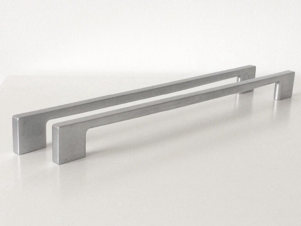 20 Slimline Satin Finish Magnet Kitchen Bedroom Cabinet Door U0027Du0027 Handles