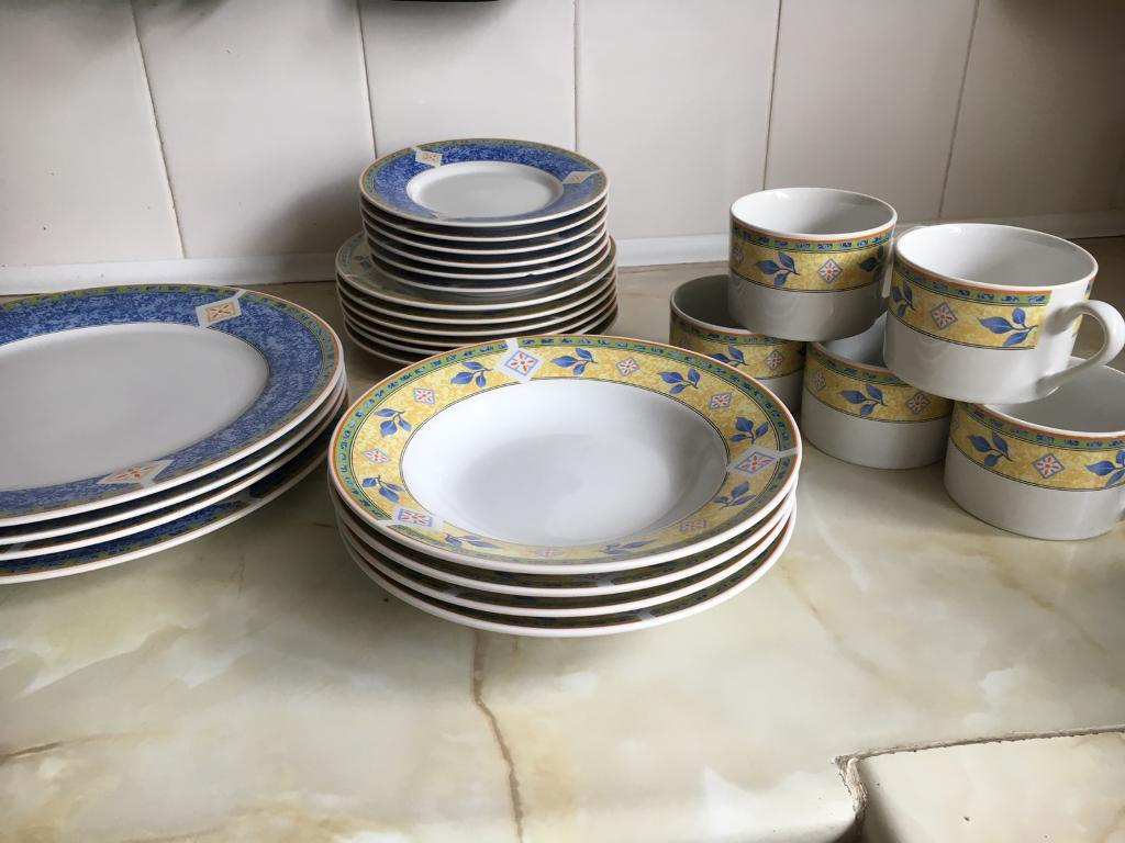 Jeff Banks Ports of Call Dinner Service & Jeff Banks Ports of Call Dinner Service | in Old Basing Hampshire ...