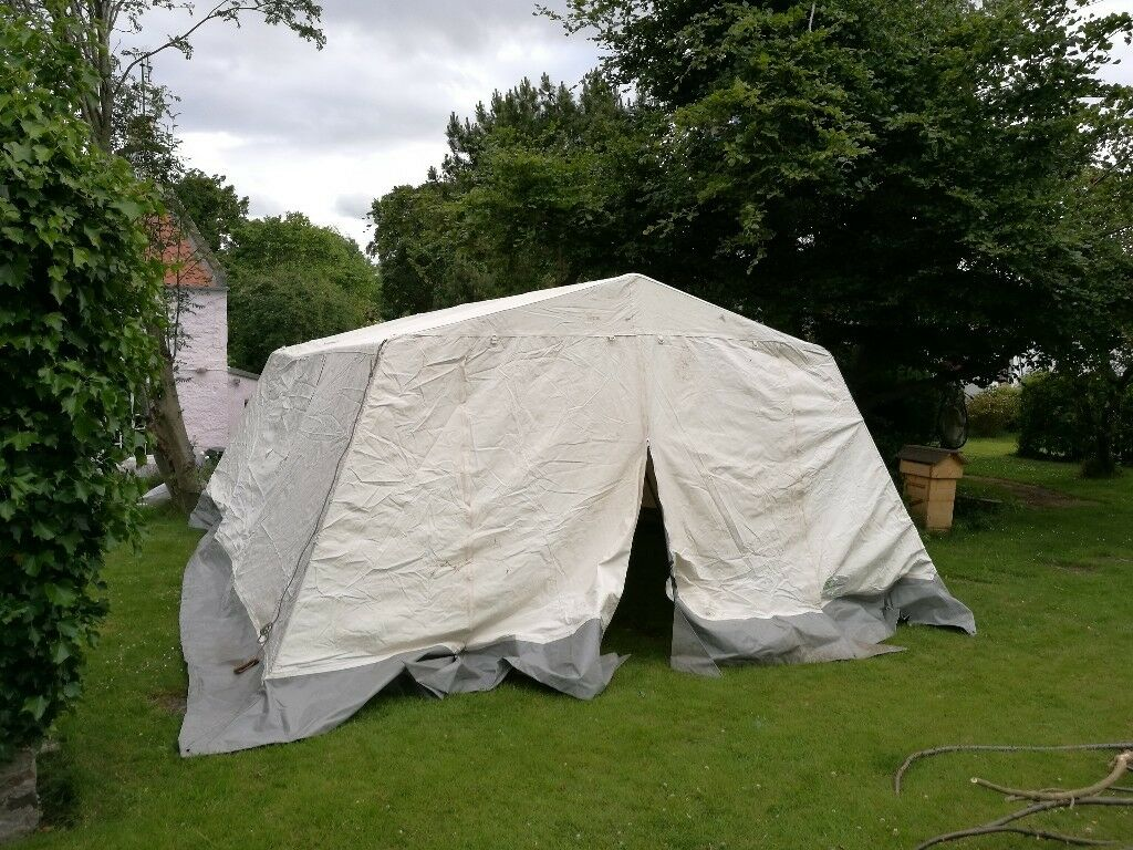6 x 4.4m Marquee Large Group Mess Tent for groups Scouts Guides & 6 x 4.4m Marquee: Large Group Mess Tent for groups Scouts Guides ...