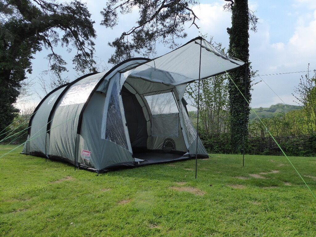 Coleman Coastline Deluxe 4-man tent for sale. Excellent condition. Quick pitch tunnel & Coleman Coastline Deluxe 4-man tent for sale. Excellent condition ...