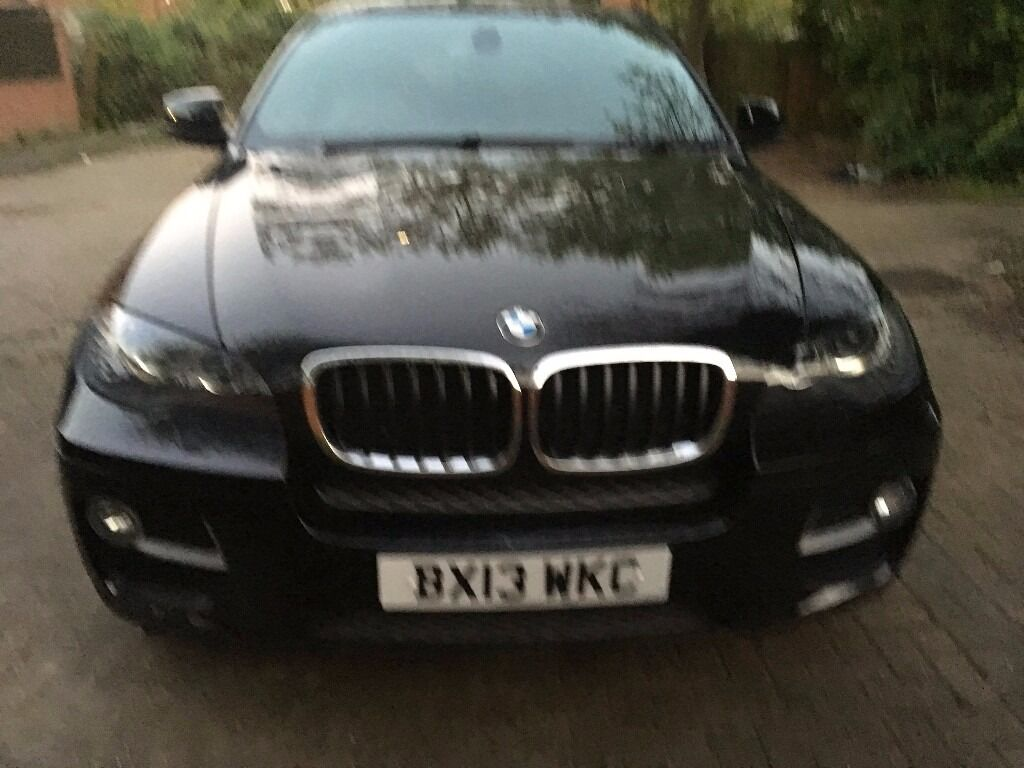 BMWX6 XDRIVE30DAUTO, BLACK COLOUR COUPE DIESEL CAR 2993CC FULL BMW SERVICE  HISTORY, MOT 04