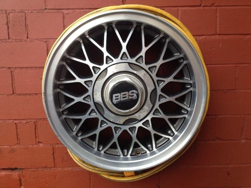 Mk2 Vw Golf 14  BBS RZ Diamond Cut Alloy Wheel Hose Reel & Mk2 Vw Golf 14
