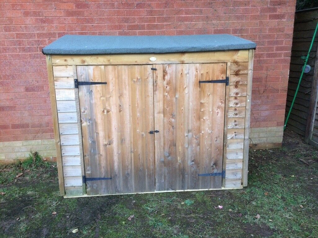 Larchlap Garden Shed For Sale.