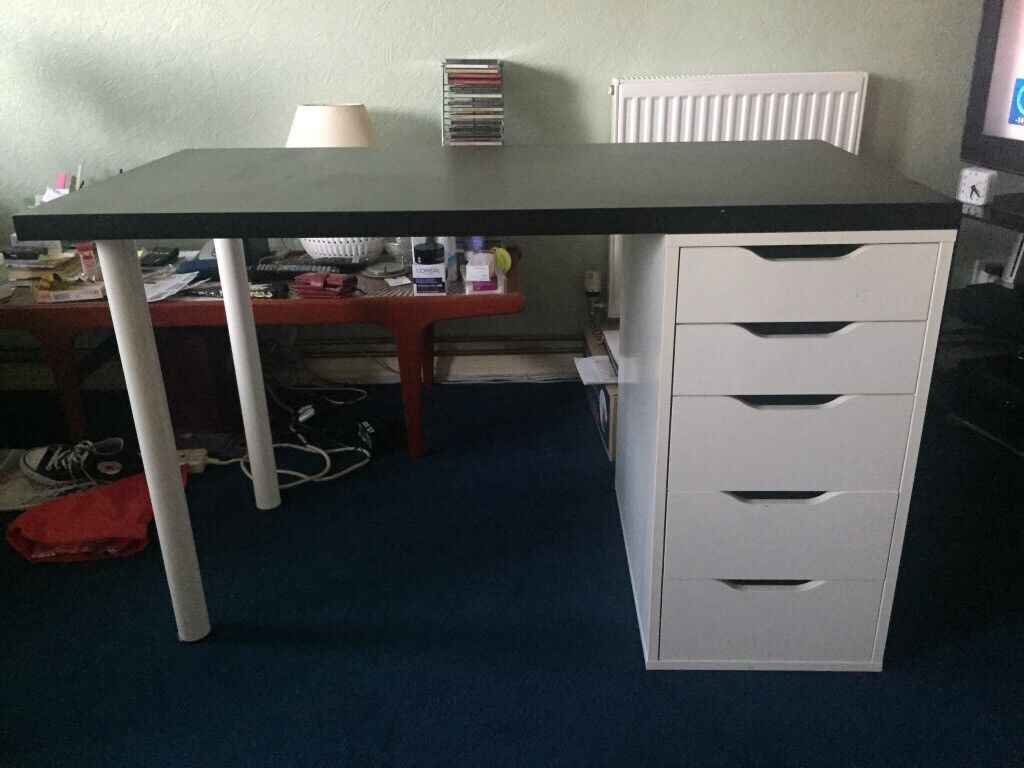 IKEA Desk And Drawers