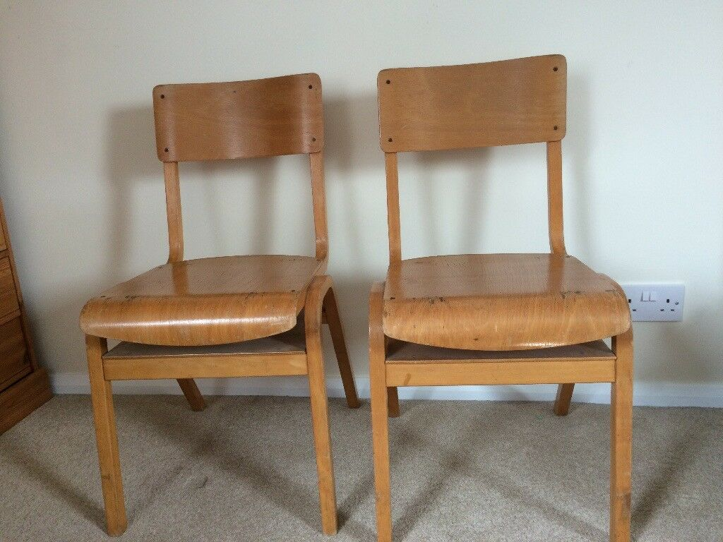 2 old school chairs for sale. & 2 old school chairs for sale. | in Haywards Heath West Sussex | Gumtree