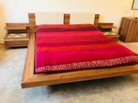 Luxurious Bed Set From Nolte Mobel Brand