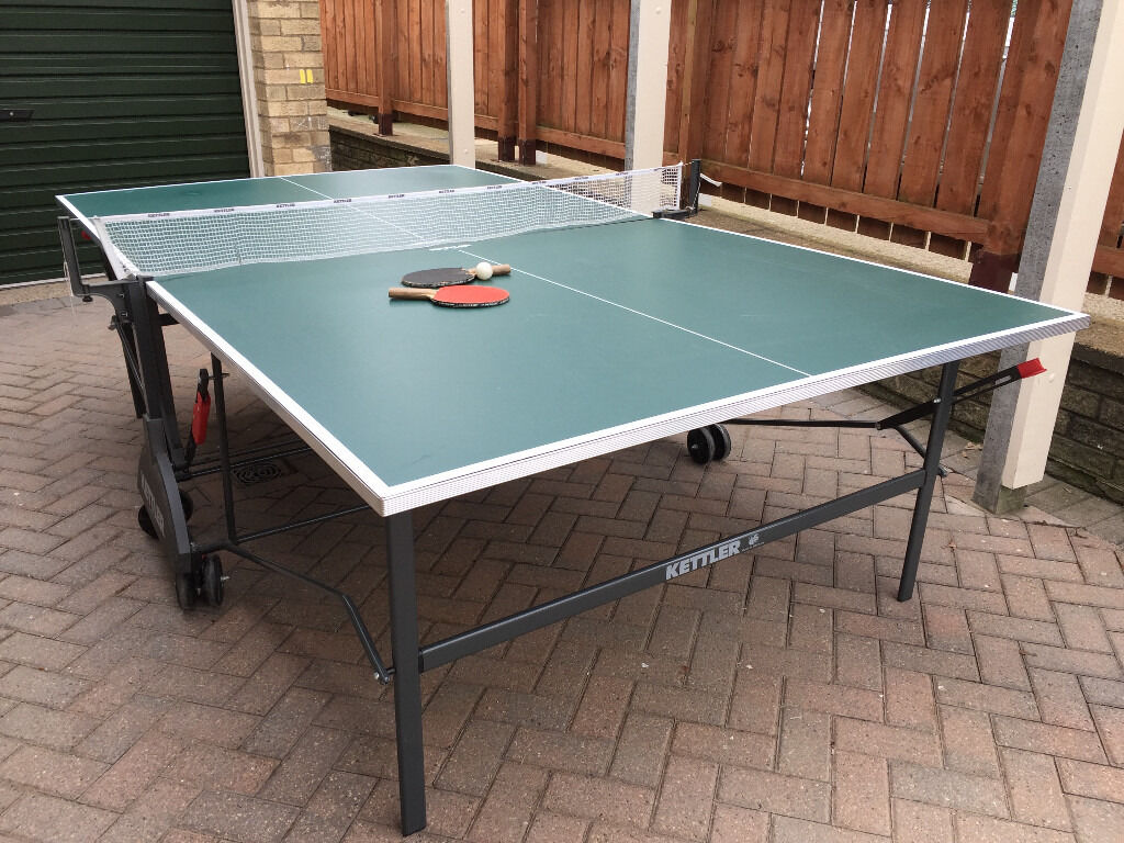 Table Tennis Table By Kettler (Professional Quality)