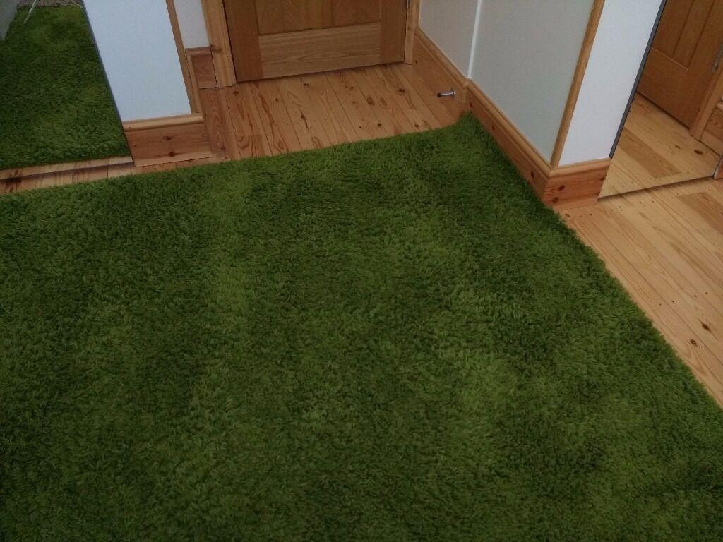 HAMPEN IKEA Green Rug 160x230 Cm