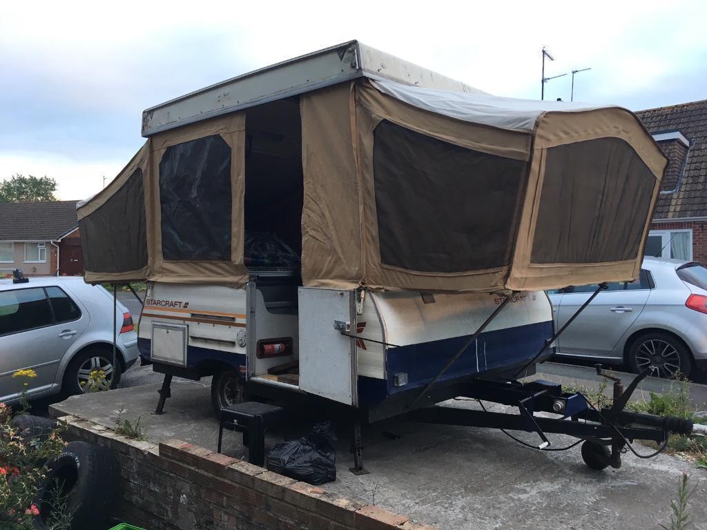 Starcraft Starlite XL Hard top trailer tent & Starcraft Starlite XL Hard top trailer tent | in Tuffley ...