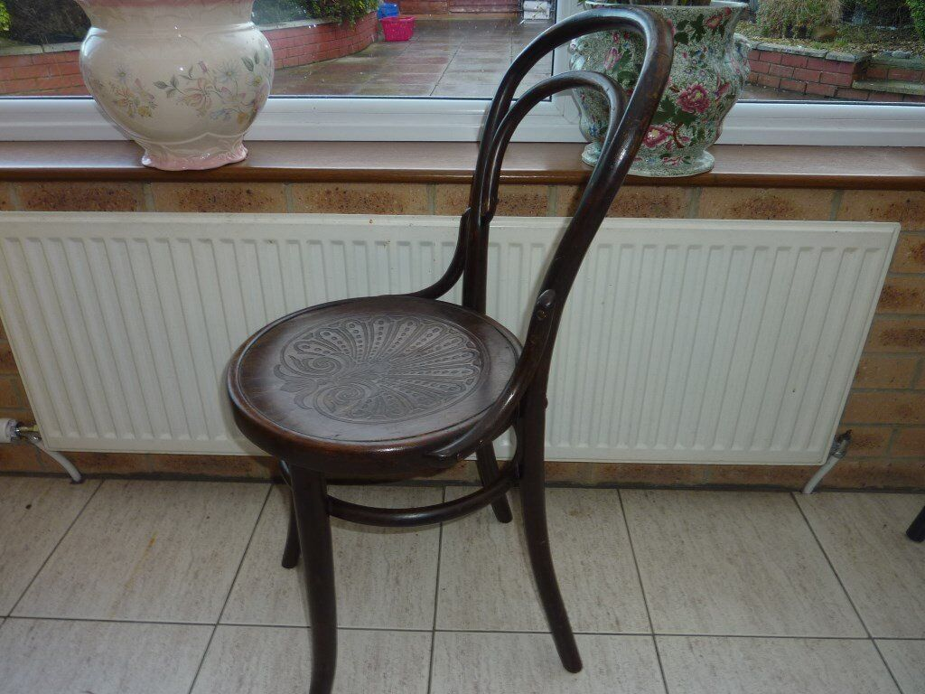 Antique Mazowia Bentwood Chair 1910s