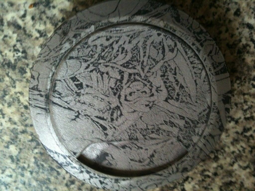 1 Customized Snap In Grommet Office Desk Wire Hole (The Reaper)