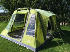 Vango Ravello 500 Airbeam Tent & Kampa southwold 8 air tent and southwold air canopy | in Chester ...