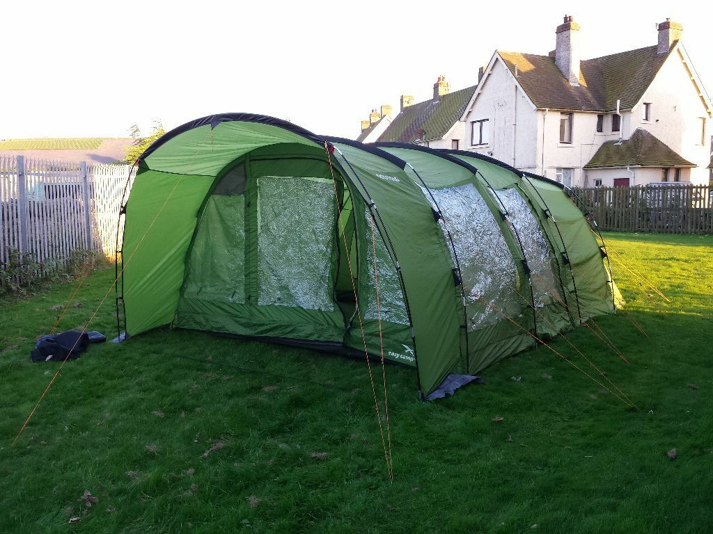 Tent. EasyC& Boston 600. 6 Man Family Tunnel Tent  sc 1 st  Gumtree & Tent. EasyCamp Boston 600. 6 Man Family Tunnel Tent | in ...
