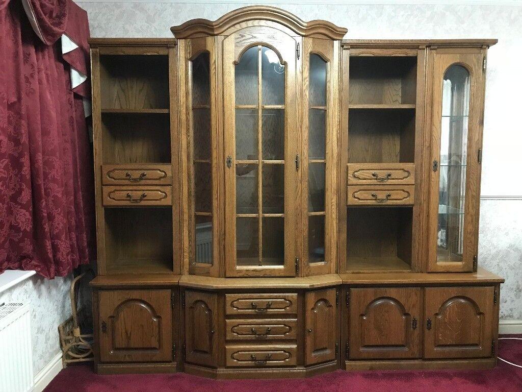 Karel Mintjens Oregon Display/Showcase Cabinet And Corner Unit
