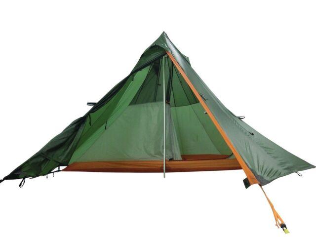 Nigor Wickiup 3 Half Inner Tent Tipi Lightweight 3 Man Compact Wicki Up Biker  sc 1 st  eBay & Nigor Wickiup 3 Half Inner Tent Tipi Lightweight 3 Man Compact ...