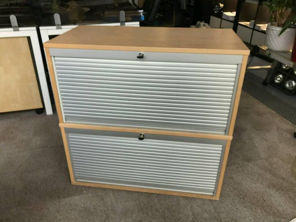 ikea efectiv roller shutter filing cabinet