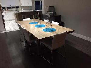 Custom Bowling Alley Furniture (Harvest Tables)
