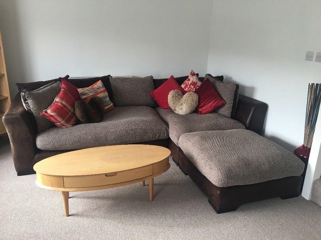 Large DFS 4 Seater L Shape Sofa
