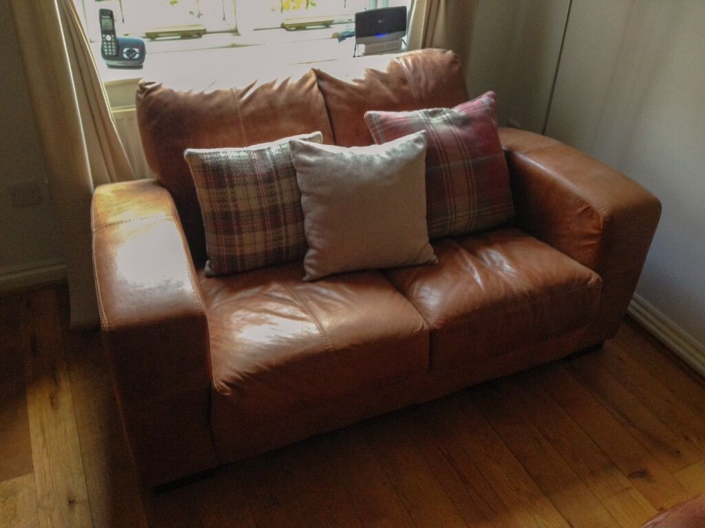 tan leather sofa for sale
