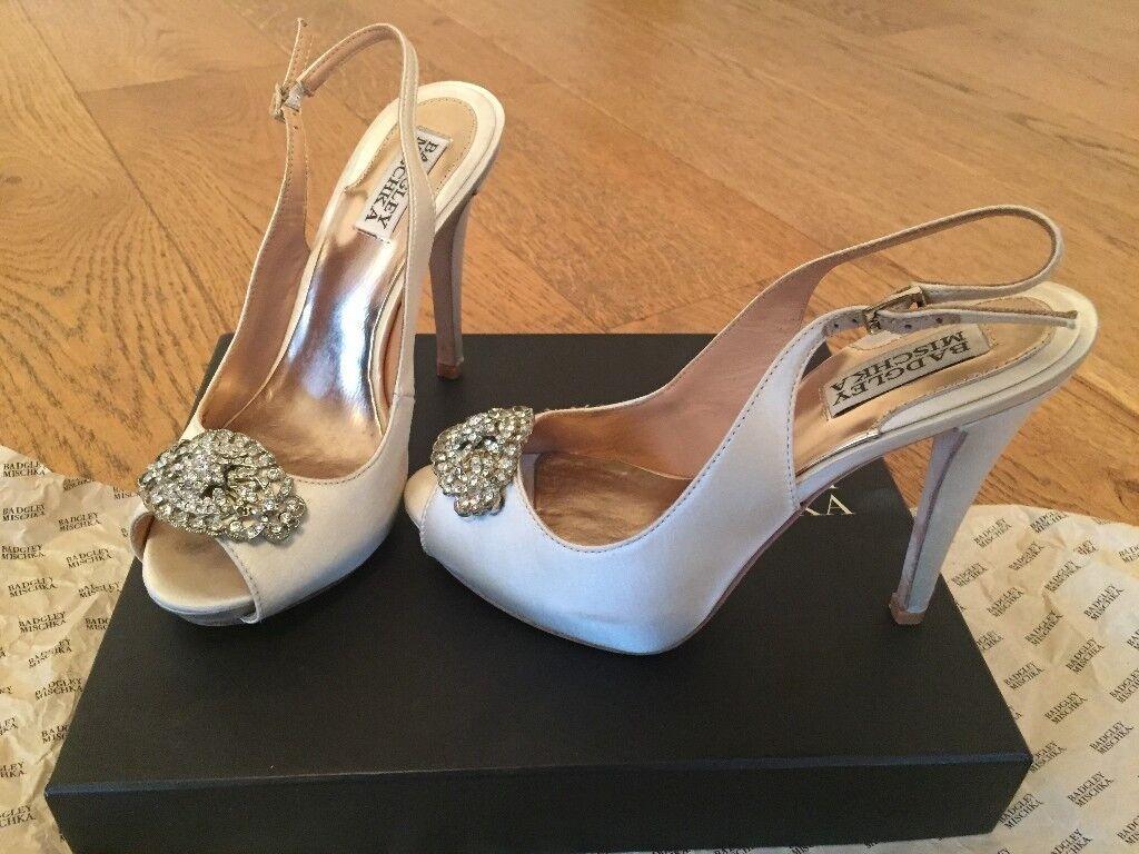 Mischka Badgley Wedding Shoes.