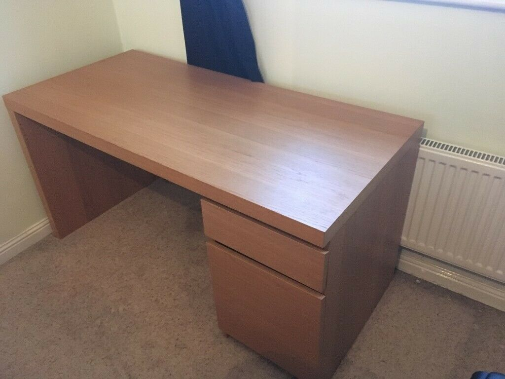 Malm IKEA Desk | In Kirkcaldy, Fife | Gumtree