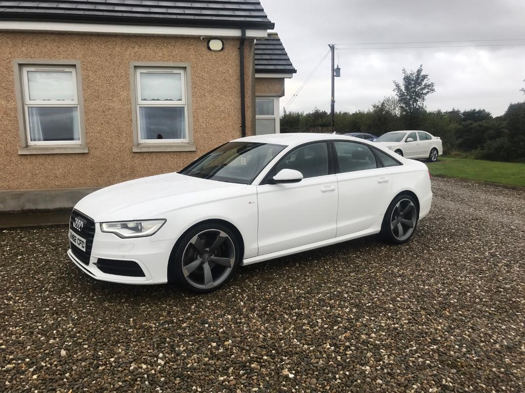 Audi A6   S Line   White   80k Miles