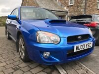 2003 Subaru Impreza WRX Just Had Big Service   Great Condition   Low Mileage