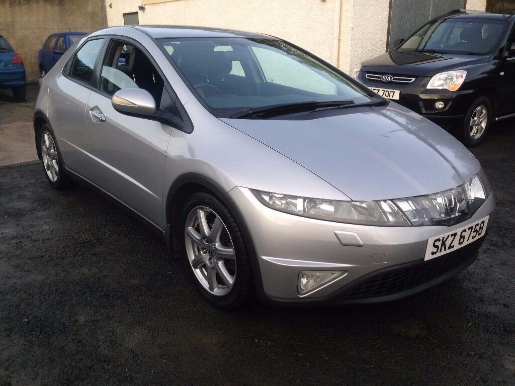 2007 Honda Civic ,,1.8 Petrol,,,,,price;£ 2690