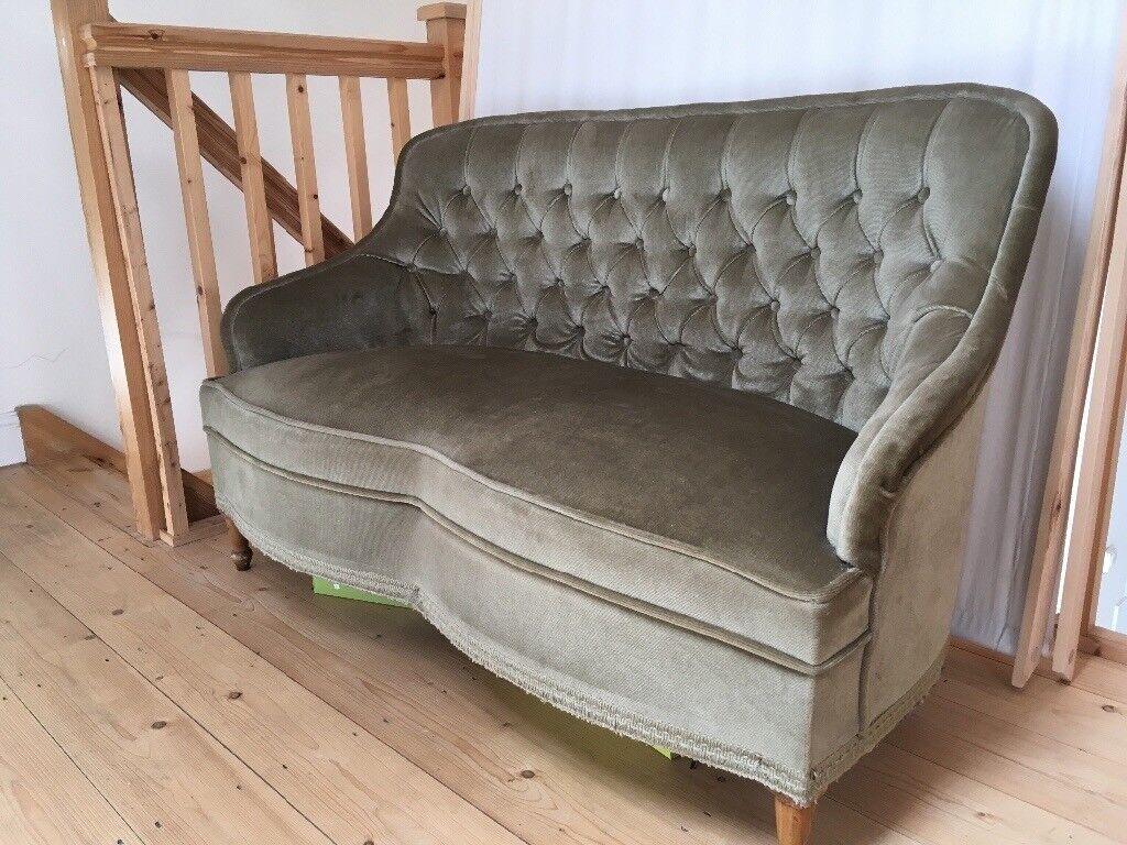 Small Queen Anne Sofa