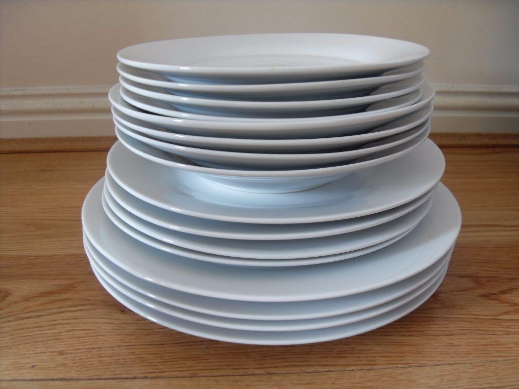 Dinner Plates Set Crockery Dinner Set Dish Kitchen Set 16 pieces & Dinner Plates Set Crockery Dinner Set Dish Kitchen Set 16 pieces ...